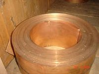 Бронзовая лента  БрОЦ4-3т толщ. 0,1*250 мм,  27,5 кг