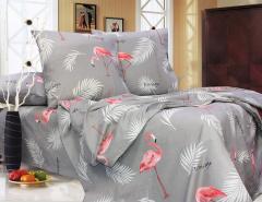 Полуторный постельный комплект Т0706