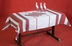 The corporate gifts, cloths embroidered bench