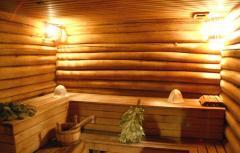 Baths wooden