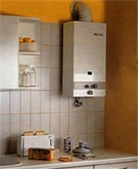 Water heaters flowing (geysers water-heating, gas