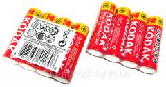 Батарейки KODAK пальчиковые,  R06 AA