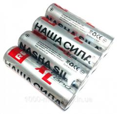 Батарейки НАША СИЛА пальчиковые,  R06 AA