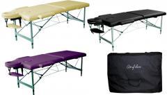 Folding aluminum massage table of DIO