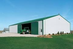 Здания сельскохозяйственные, Строительство