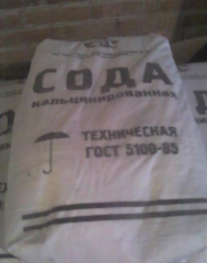 The soda calcinated in bags wholesale.