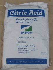 Citric acid 25 of kg (E330) (pineapple production