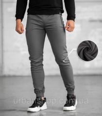 Утепленные джоггеры BEZET Grey'20 - XL