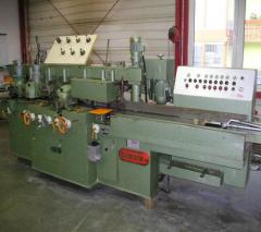 Machines are quadrilateral planing molding
