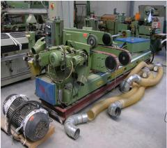 Machines are double-sided formatno-cut profile,