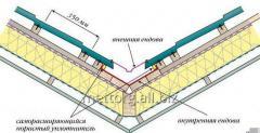 Разжелобная (ендова) планка RAL6005 (зеленый)