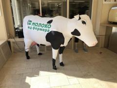 Надувная фигура корова 1,5 метра