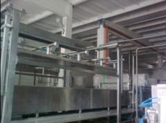 The press for the dairy industry. Installation for