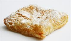 Bugatsa with cream from the producer. The