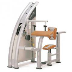 The exercise machine is cargo block, the Triceps