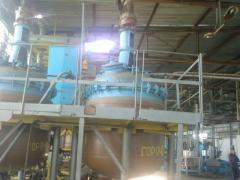 The reactors enameled 4m.kub.