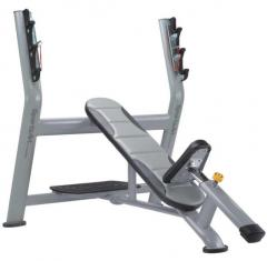 Bench for a press at an angle up, SportsArt, A998,