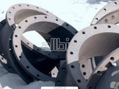 Castings from hot strength alloys