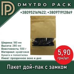 Пакети Дой-Пак (Doy Pack)