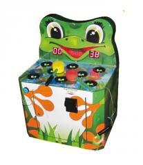 Gaming machine. Frog beater children's