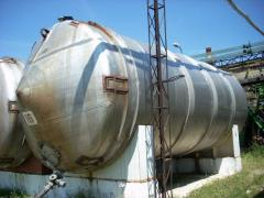 Capacity corrosion-proof on 50 cbm....