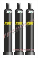 Азот газообразный (99,9 %) повышенной чистоты (ПЧ)