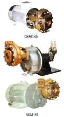 Onboard centrifugal pumps for transfer of