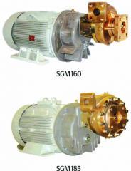 Stationary centrifugal pumps for transfer of