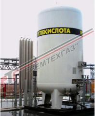 Вертикальные криогенные резервуары для хранения