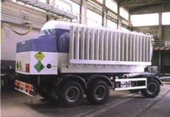 Containers for transportation of cryogenic liquids