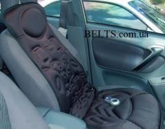 Массажная накидка на автомобильное сидение или