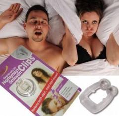 Магнитная клипса антихрап Snore Free Nose Clip от
