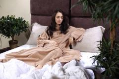Теплое одеяло Snuggie Blanket, плед с рукавами
