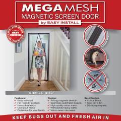 Москитная штора на дверь Магнетик Меш, Magnetic