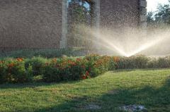 Автоматическая система полива газона (спринклер
