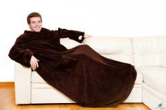 Одеяло-плед Snuggie Blanket с рукавами Снагги