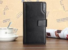 Черный клатч Baellerry Business (портмоне, кошелек