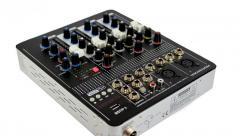 Аудио микшер Mixer BT-4000 4ch.+BT (микшерный