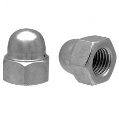 Nut the cap-type DIN1587