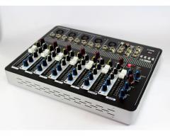 Аудио микшер Mixer BT-7000 4ch (микшерный пульт,