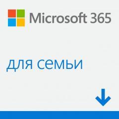 Microsoft 365 Сімейний,  річна підписка до 6...