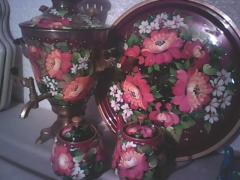 Чайные наборы с росписью