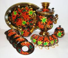 """Set tea of 16 objects, No. 2 """"Indian"""