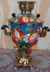 Samovar electric 3-liter with a list,  No....