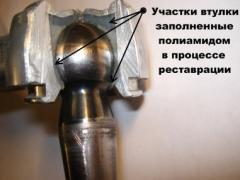 The equipment repair for car service
