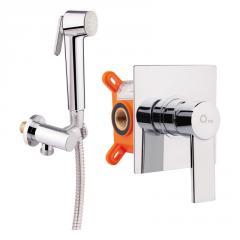 Набор для гигиенического душа со смесителем Q-tap