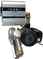The pump for pumping of diesel fuel from a barrel