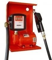The pump for gas station of gasoline + kerosene +