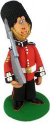 Статуетка - Англійська солдатів королівського