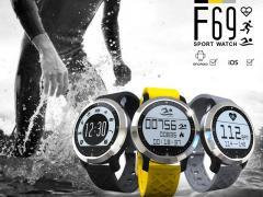 Спортивные умные часы Makibes F69 для...